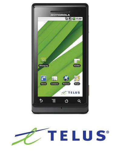 Motorola Android Telus